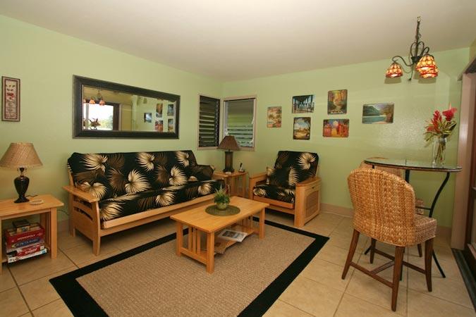 unit #107 - livingroom