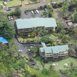 Hana Kai Maui aerial view